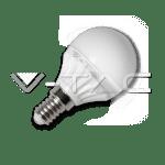 LED sijalka E14 bučka G45 4W 4500K nevtralna bela